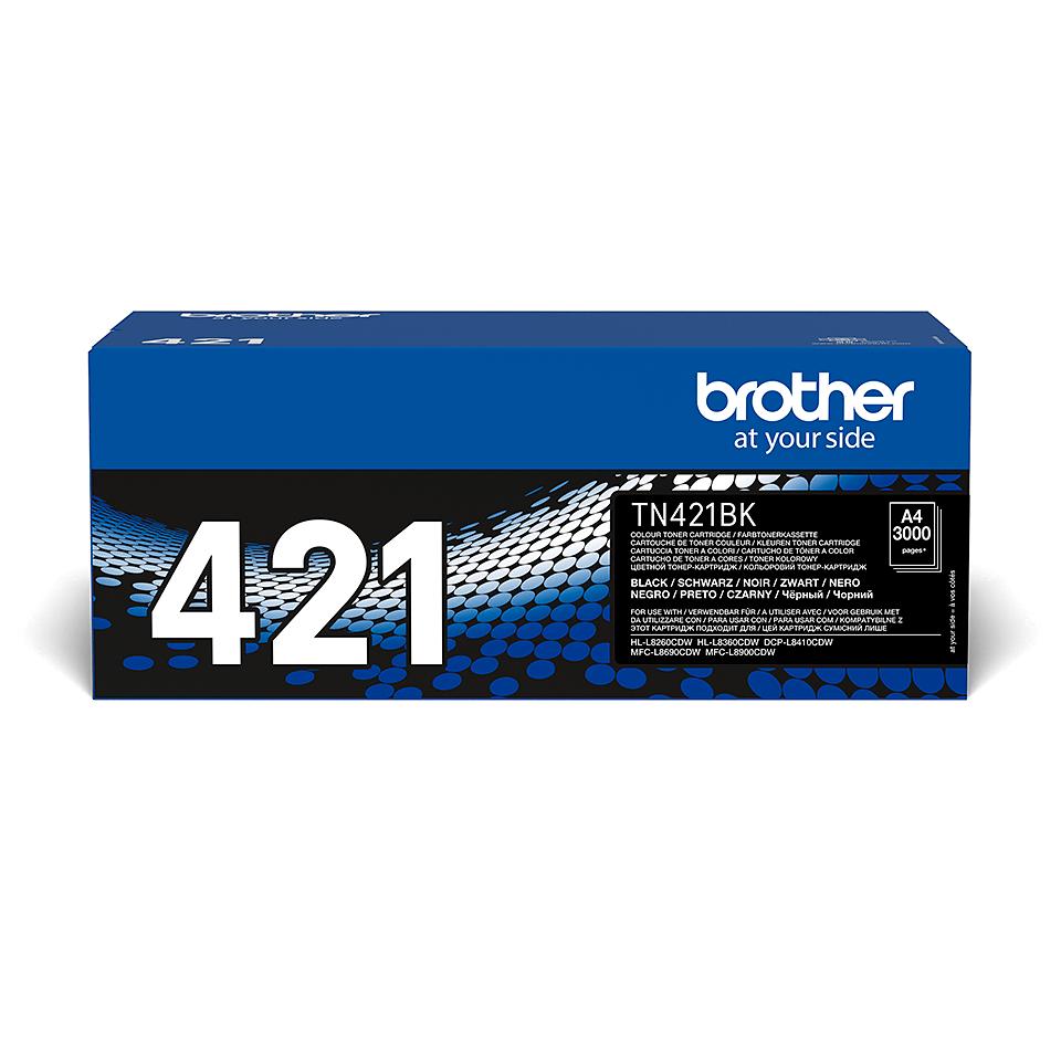 Originální tonerová kazeta Brother TN421BK – černá 2