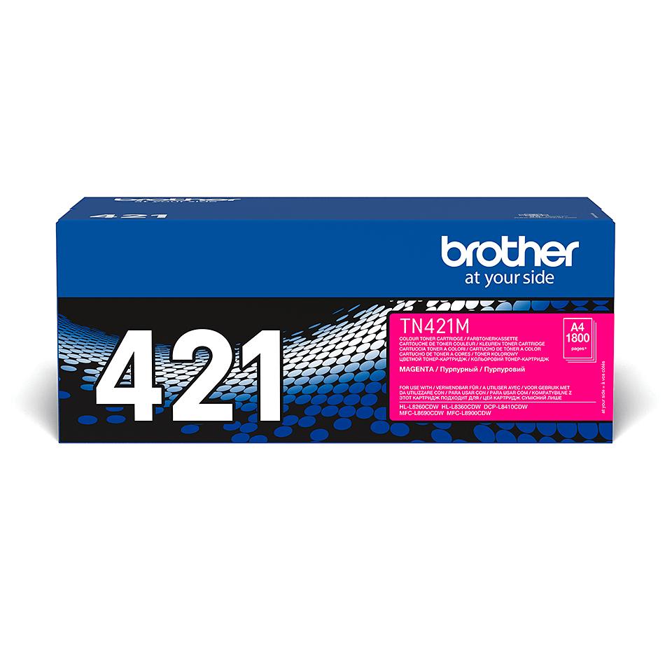 Originální tonerová kazeta Brother TN421M – purpurová 2