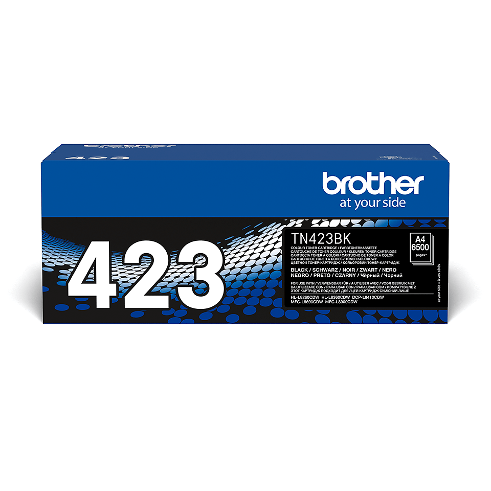 Brother TN-423BK Toner Cartridge - Black