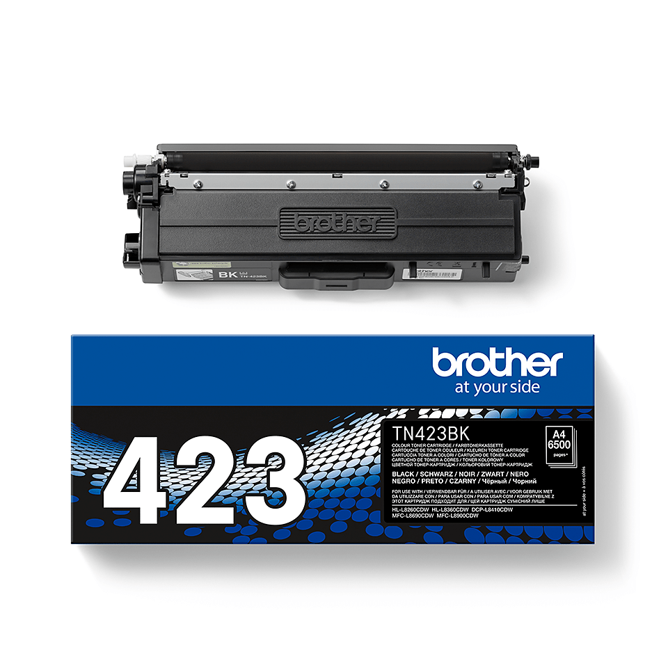 Originální tonerová kazeta Brother TN423BK – černá 2