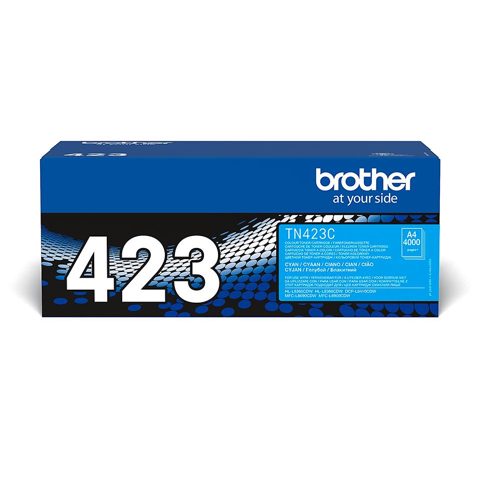 Originální tonerová kazeta Brother TN423C – azurová