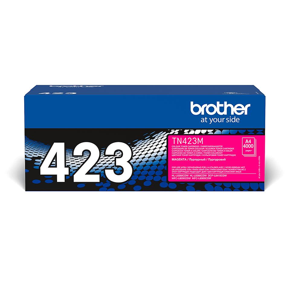 Brother TN-423M tonerová kazeta - purpurová