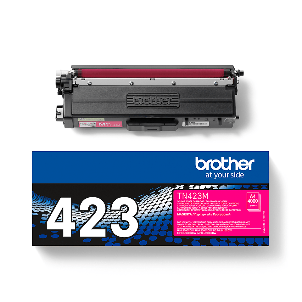 Originální tonerová kazeta Brother TN423M – purpurová 2