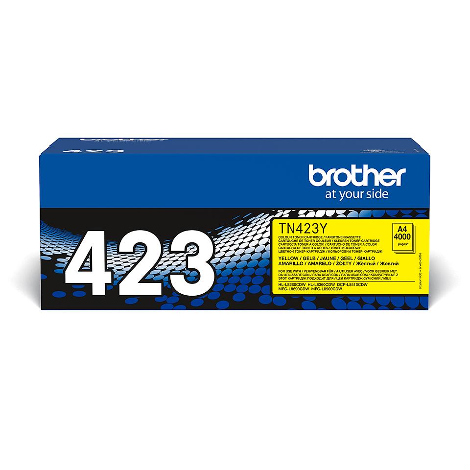 Originální tonerová kazeta Brother TN423Y – žlutá