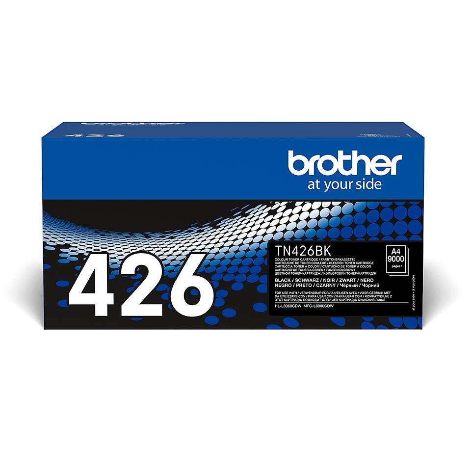 Originální tonerová kazeta Brother TN426BK – černá 2