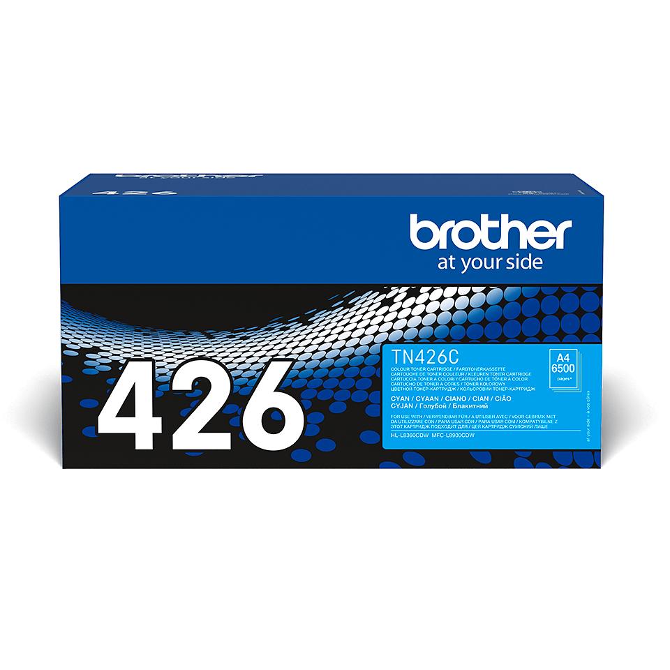 Originální tonerová kazeta Brother TN426C – azurová 2