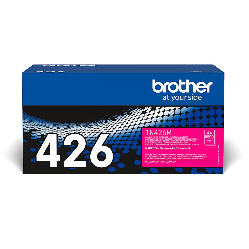 Originální tonerová kazeta Brother TN426M – purpurová