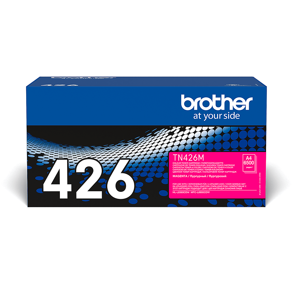Originální tonerová kazeta Brother TN426M – purpurová 2