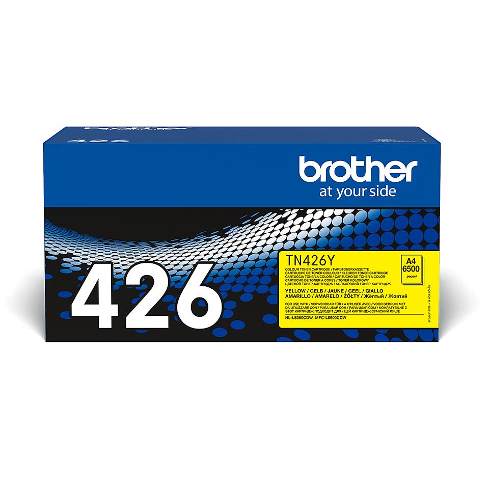 Originální tonerová kazeta Brother TN426Y – žlutá 2