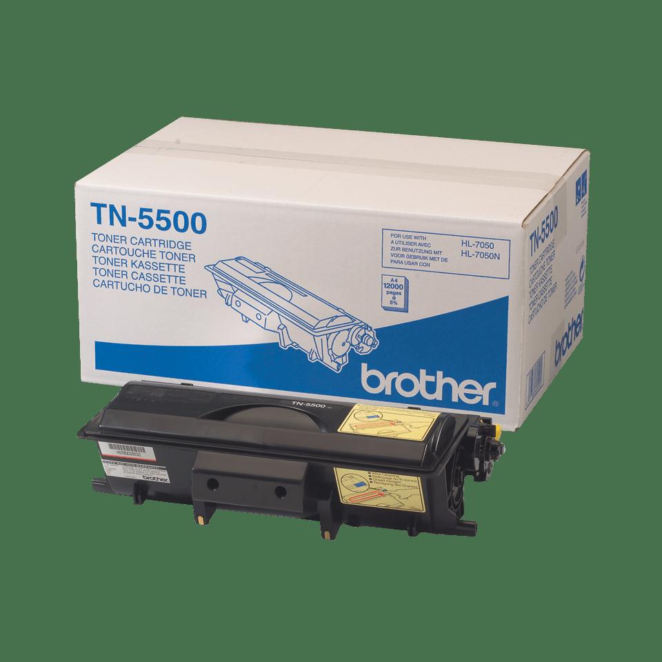 Originální tonerová kazeta Brother TN5500 s vysokou výtěžností – černá