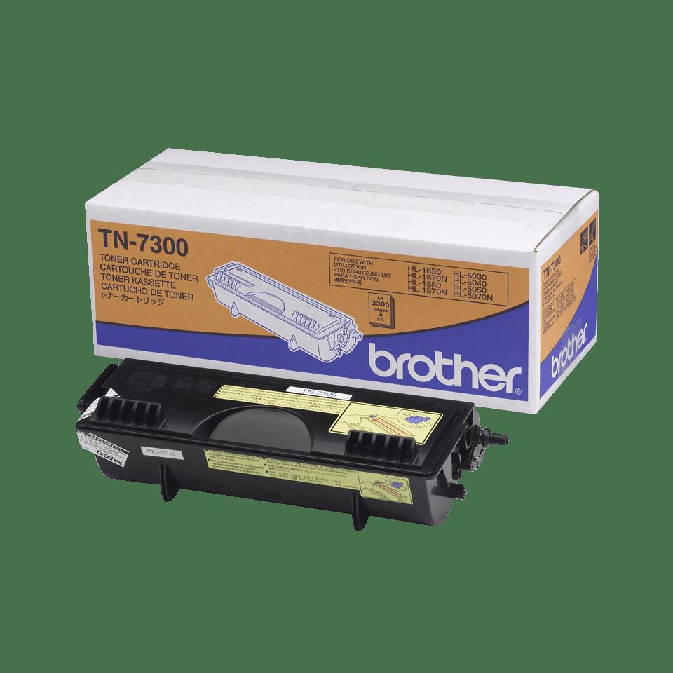 Originální tonerová kazeta Brother TN7300 s vysokou výtěžností – černá