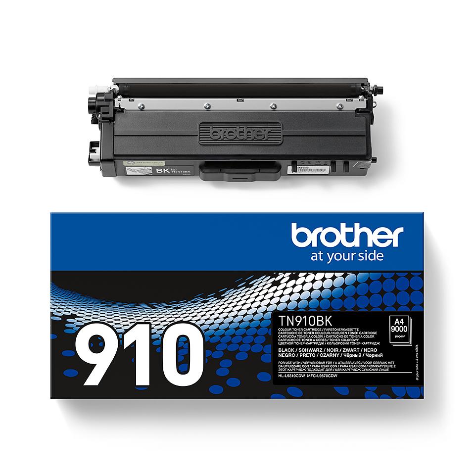 Originální tonerová kazeta Brother TN910BK – černá 2