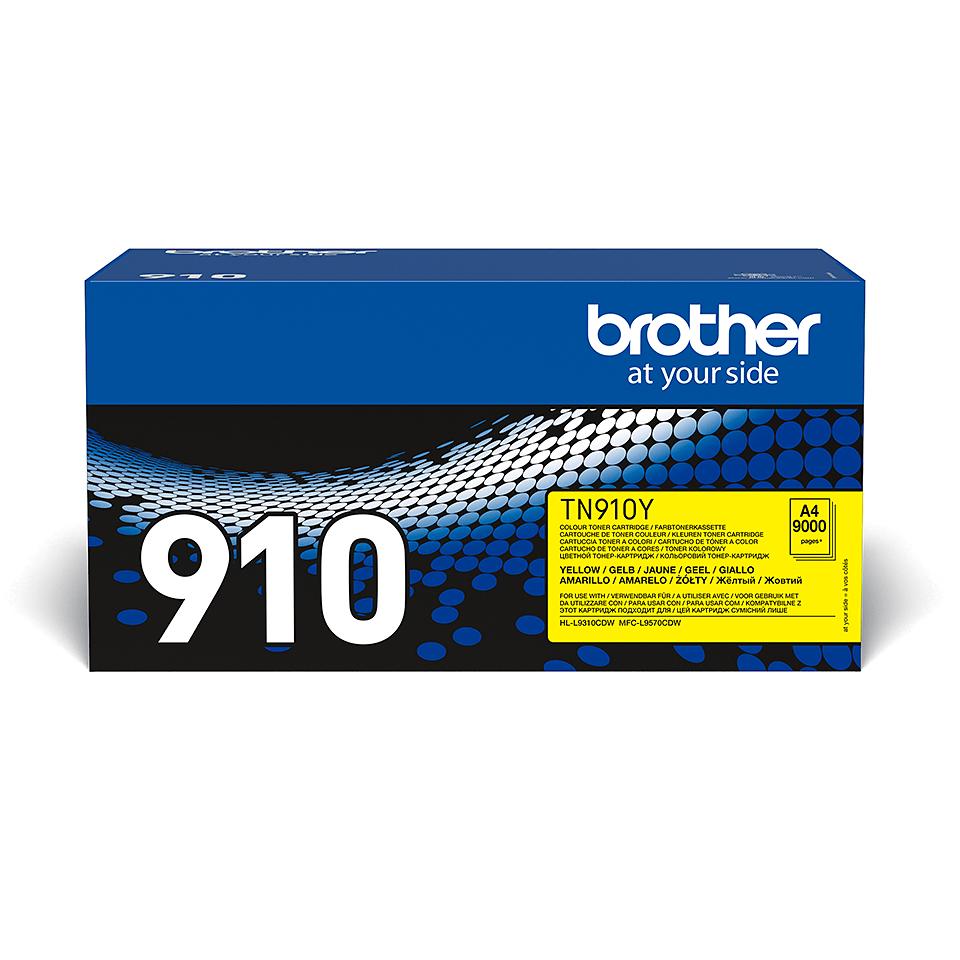 Originální tonerová kazeta Brother TN910Y – žlutá