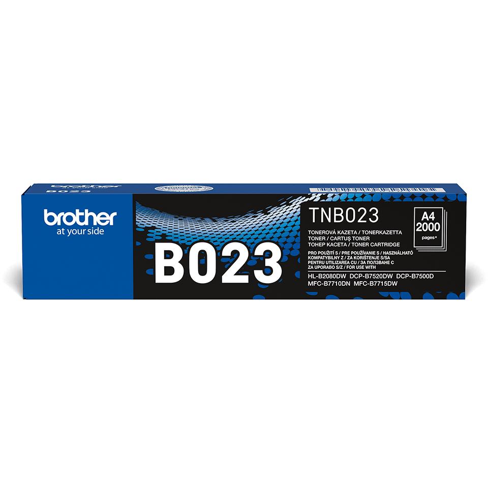 Originální Brother TN-B023 tonerová kazeta - černá.