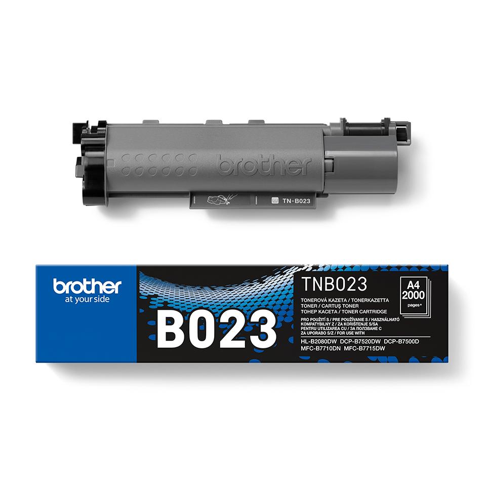 Originální Brother TN-B023 tonerová kazeta - černá. 2