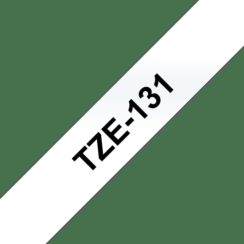 Originální kazeta s páskou Brother TZe-131 - černý tisk na průsvitné, šířka 12 mm 3