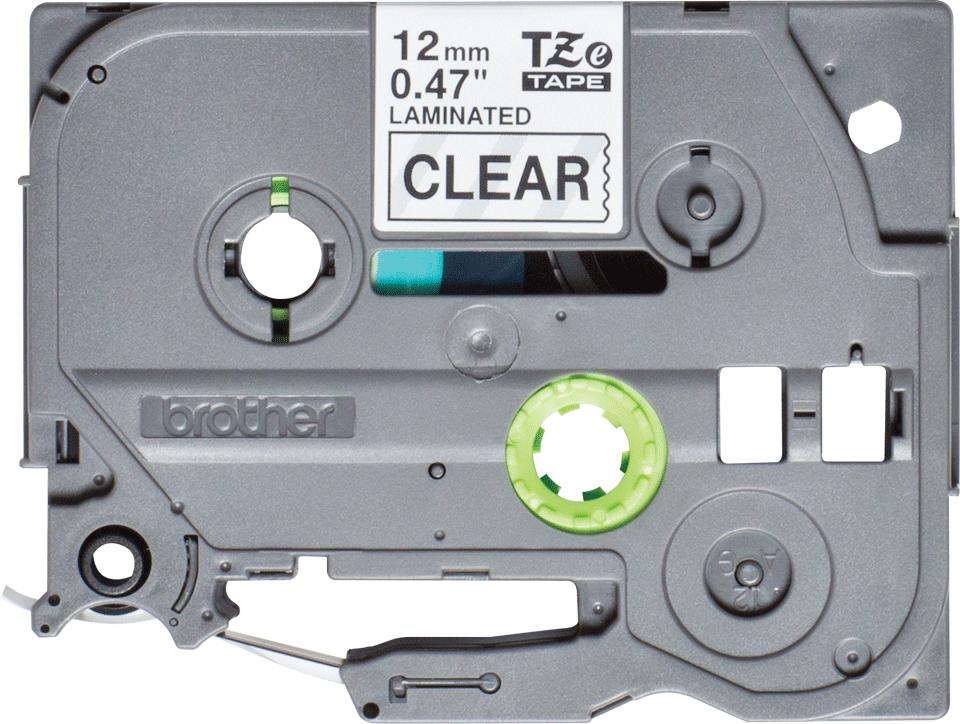 Originální kazeta pro značení Brother TZe-131S - černá na čiré, šířka 12 mm 2
