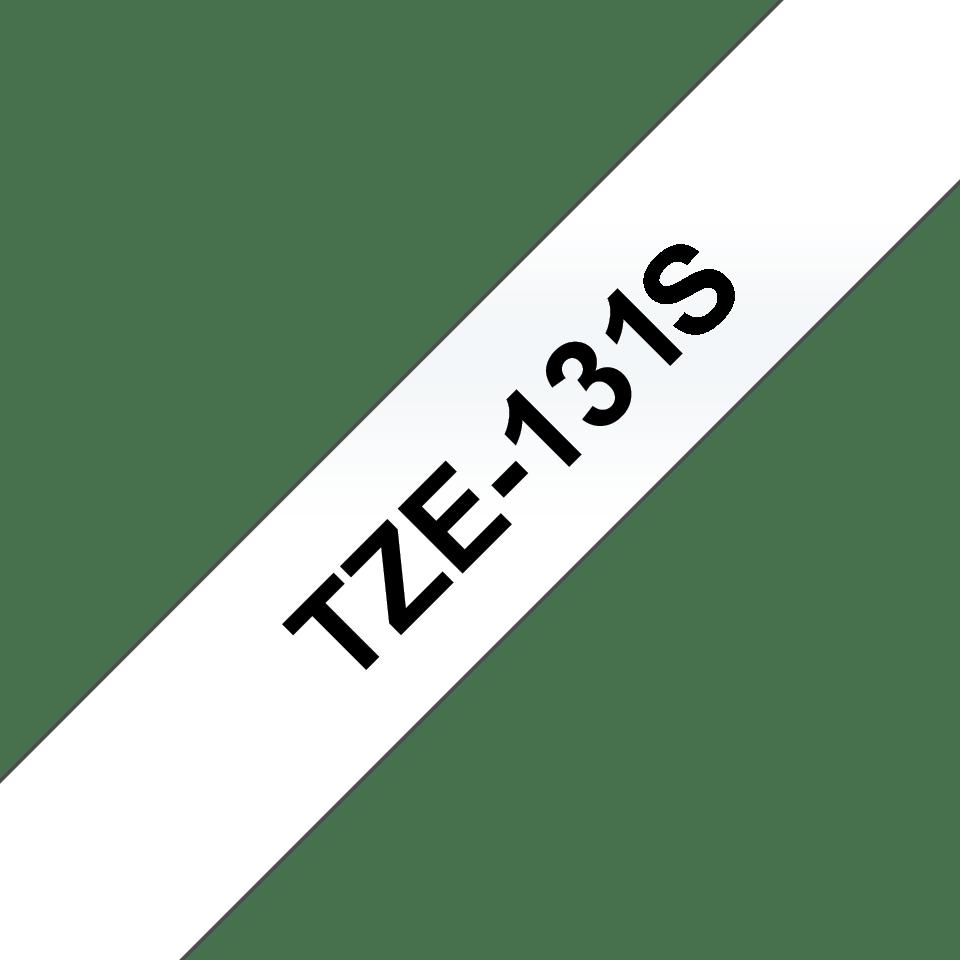 Originální kazeta pro značení Brother TZe-131S - černá na čiré, šířka 12 mm 3