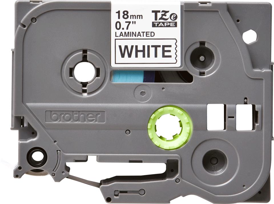Originální kazeta s páskou Brother TZe-241 - černý tisk na bílé, šířka 18 mm