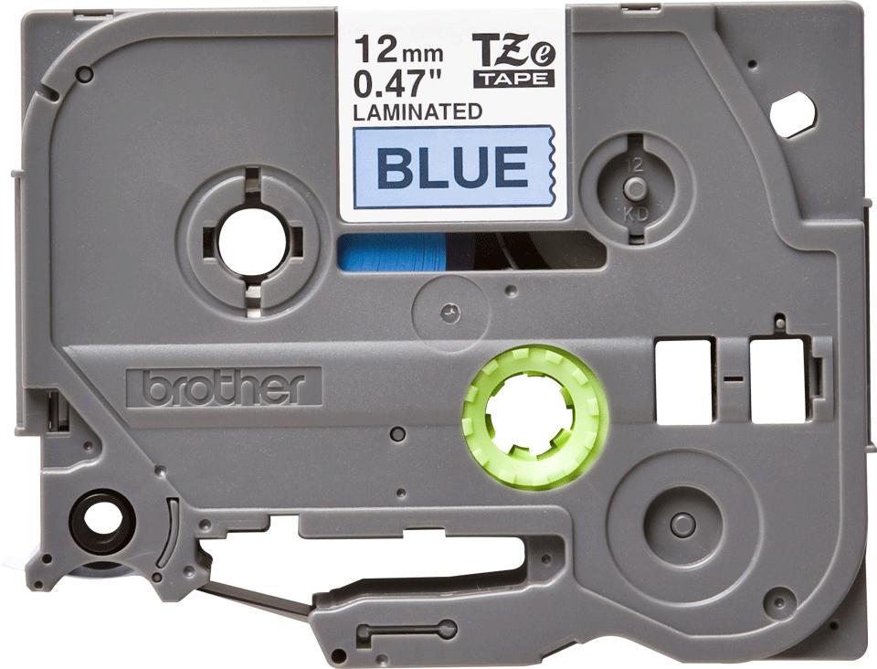 Originální kazeta s páskou Brother TZe-531 - černý tisk na modré, šířka 12 mm