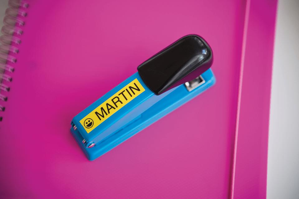 Originální kazeta s páskou Brother TZe-641 - černý tisk na žluté, šířka 18 mm 4