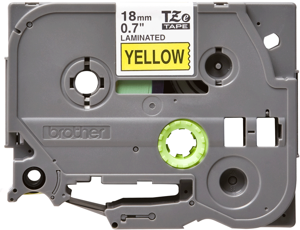 Originální kazeta s páskou Brother TZe-641 - černý tisk na žluté, šířka 18 mm