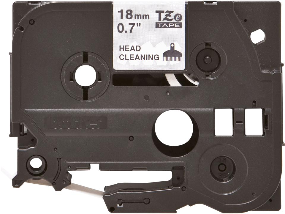 Kazeta s čistící pásku tiskové hlavy Brother TZe-CL4 - šířka 18 mm