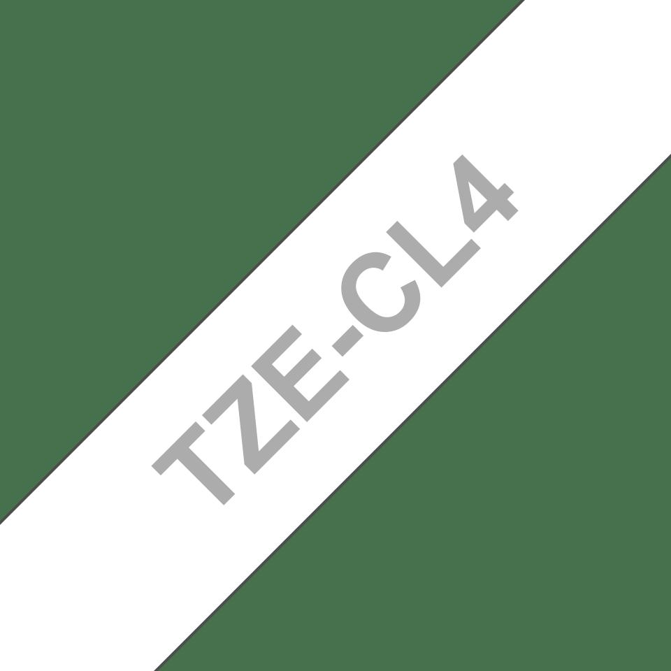 Kazeta s čistící pásku tiskové hlavy Brother TZe-CL4 - šířka 18 mm 3