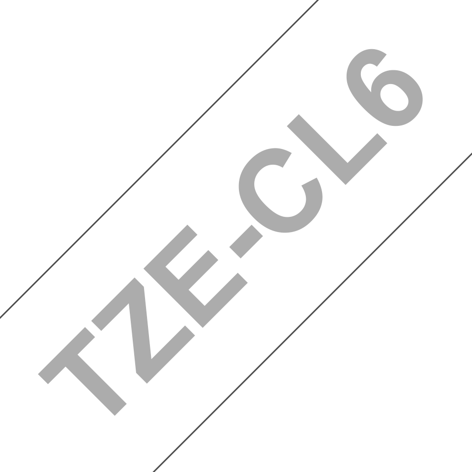 Kazeta s čistící pásku tiskové hlavy Brother TZe-CL6 - šířka 36 mm 3