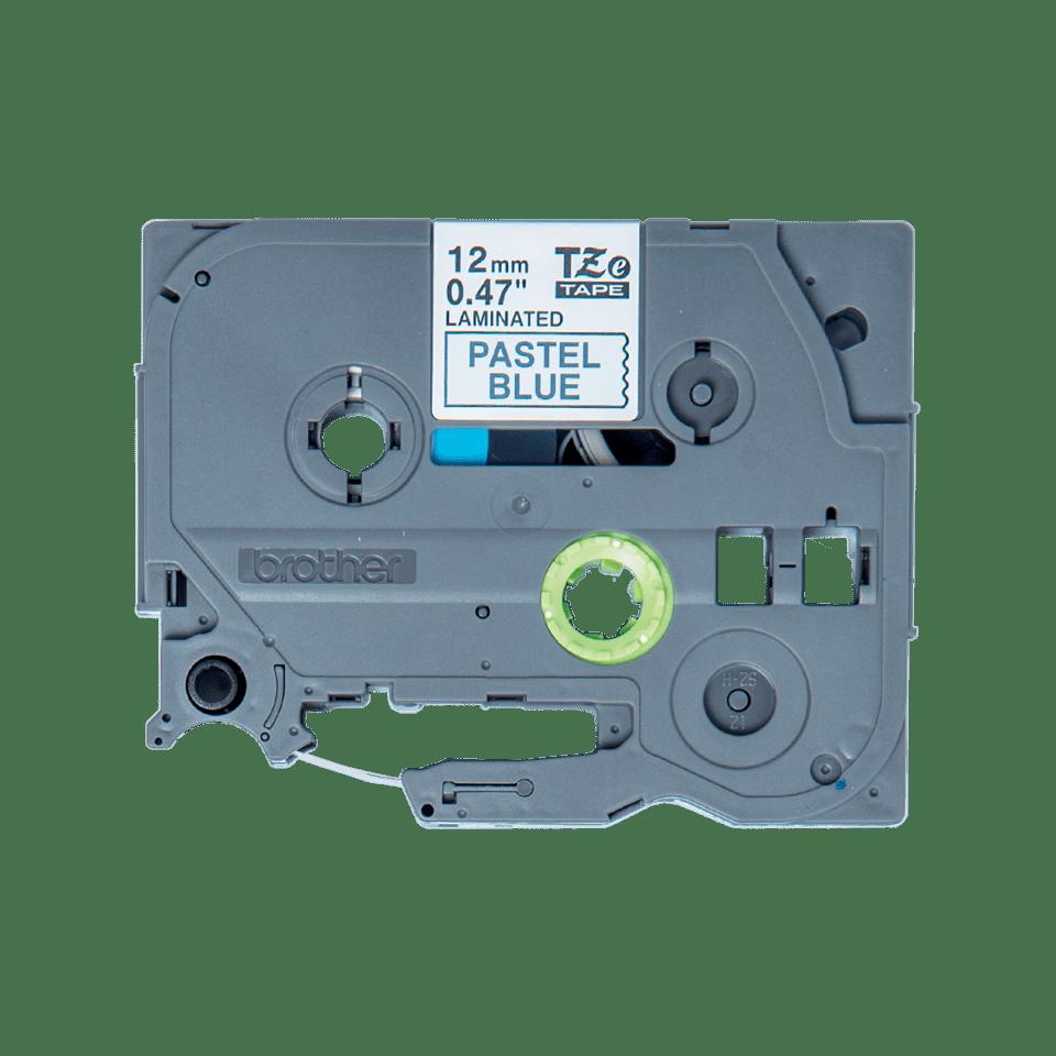 Originální kazeta s páskou Brother TZe-MQ531 - černá na pastelově modré, 12 mm 2
