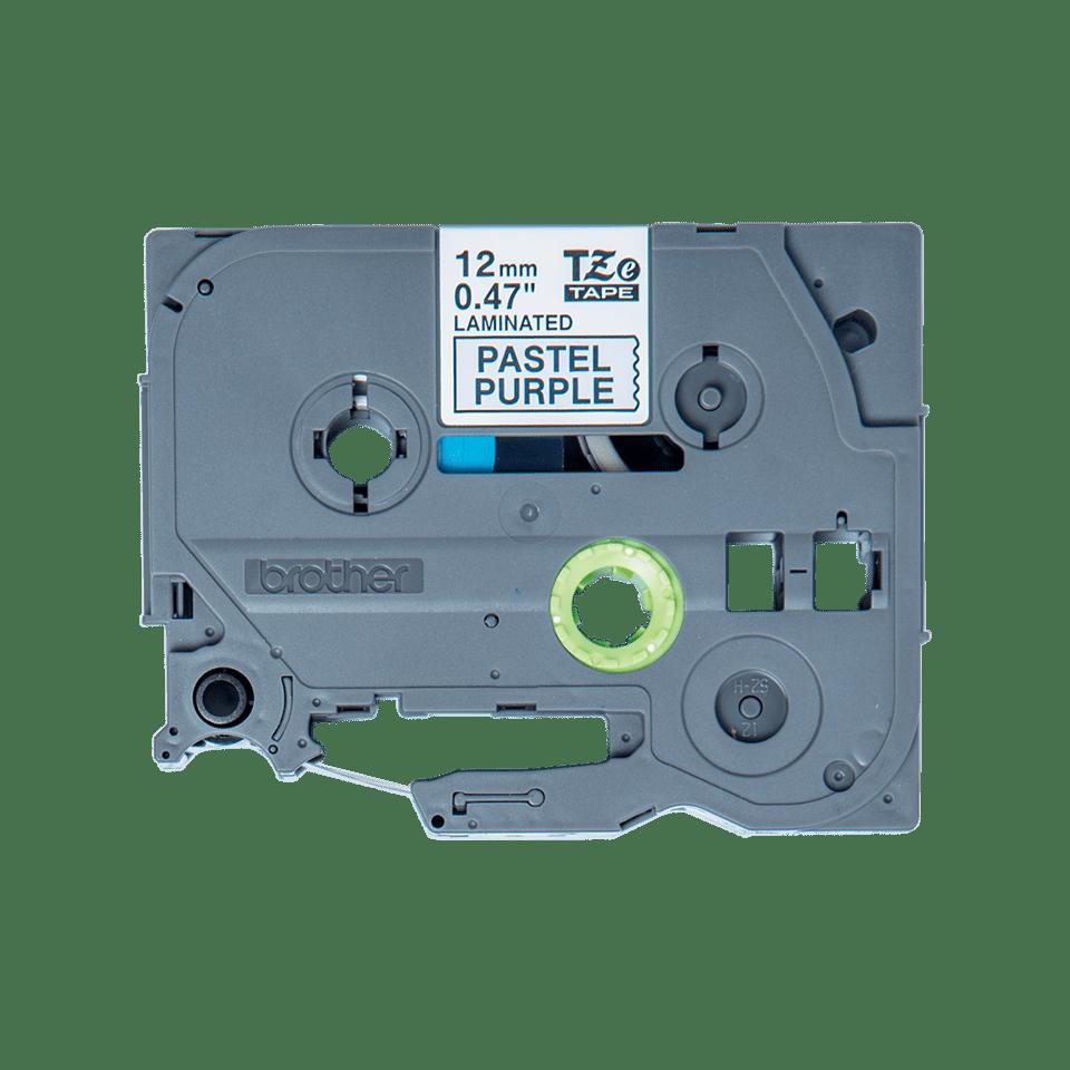 Originální Brother TZe-MQF31 páska černá na pastelově fialové - 12mm 2