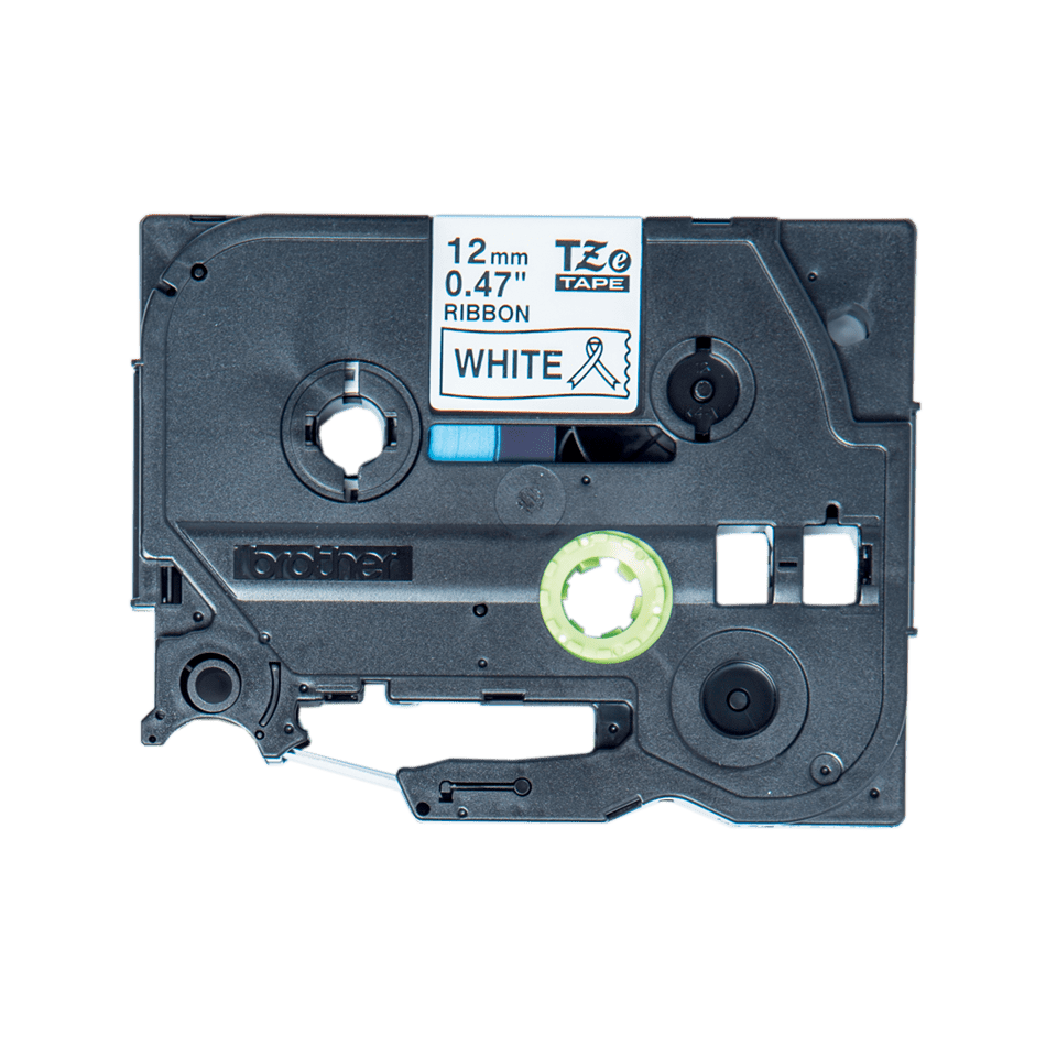 Originální kazeta s páskou Brother TZe-R231 - černý tisk na bílé, šířka 12 mm
