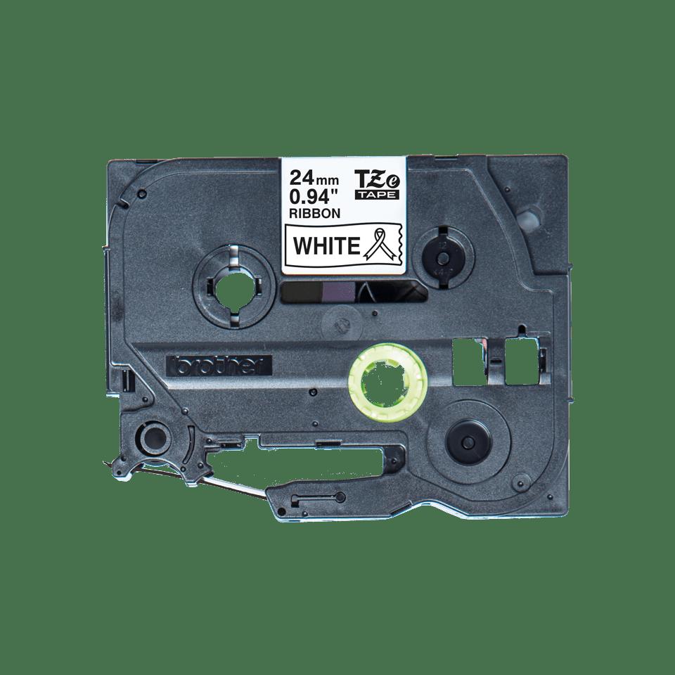 Originální pásková kazeta Brother TZe-R251 - černý tisk na bílé, šířka 24 mm