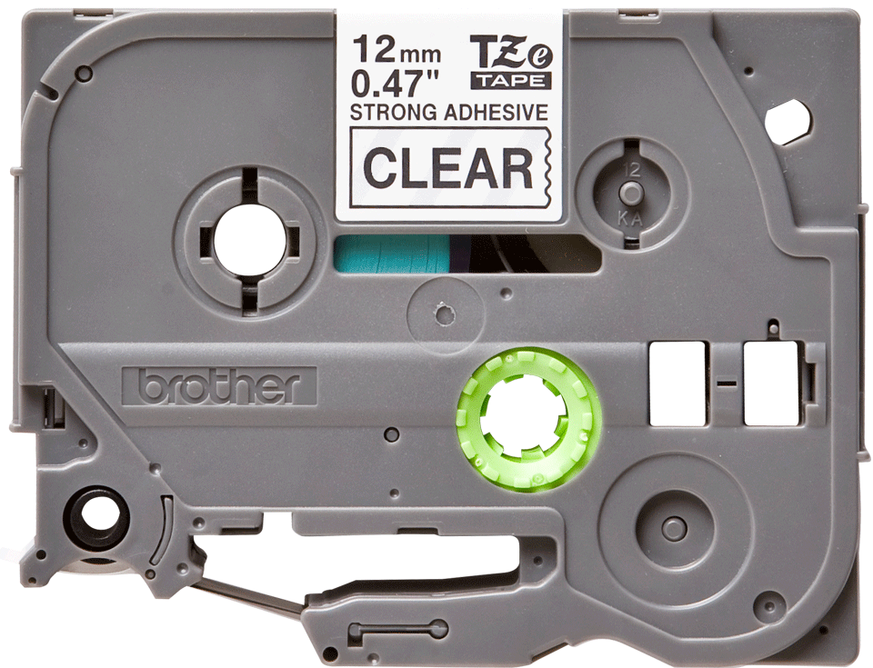 Originální kazeta s páskou Brother TZe-S131 - černý tisk na průsvitné, šířka 12 mm