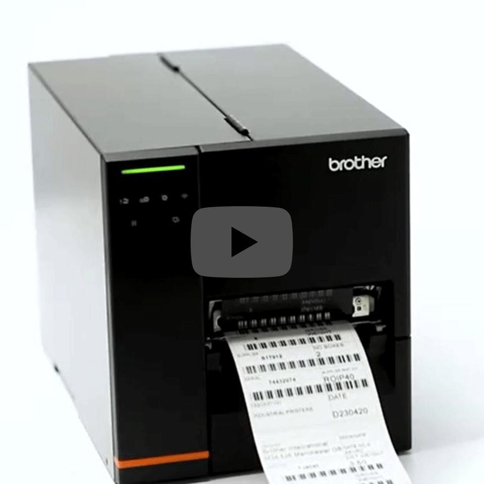 Průmyslová tiskárna štítků Brother TJ-4120TN 5