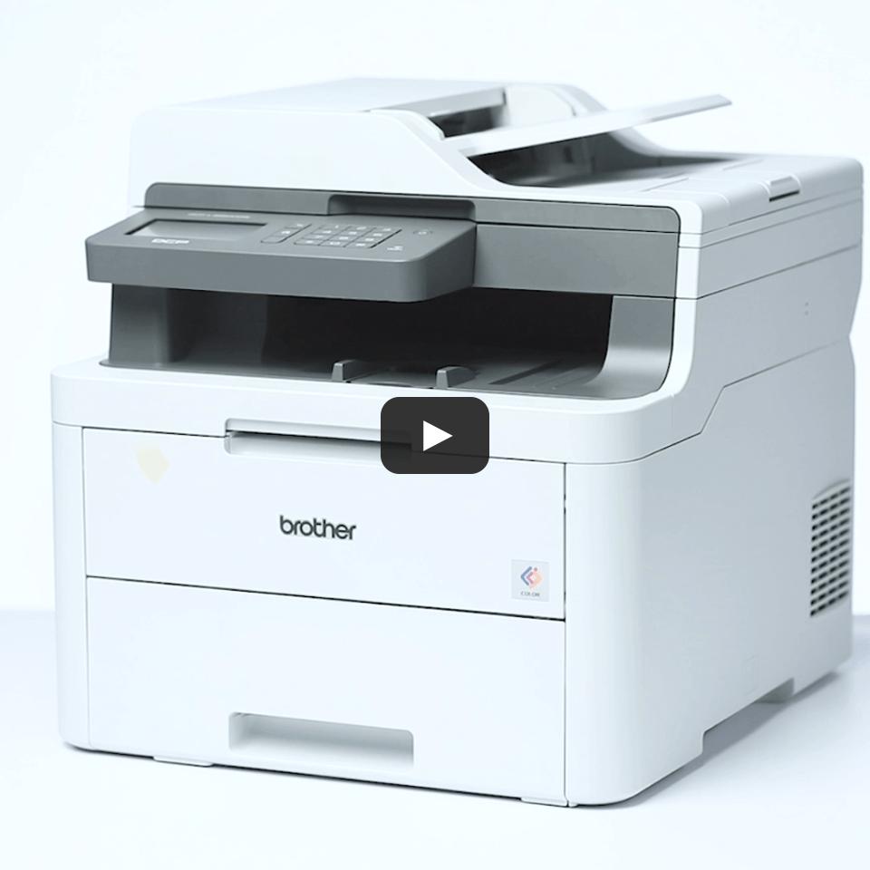 DCP-L3550CDW Barevná bezdrátová LED tiskárna 3 v 1 6