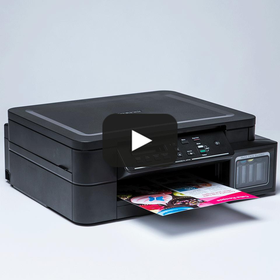 DCP-T310 InkBenefit Plus barevná multifunkční inkoustová tiskárna Brother 8