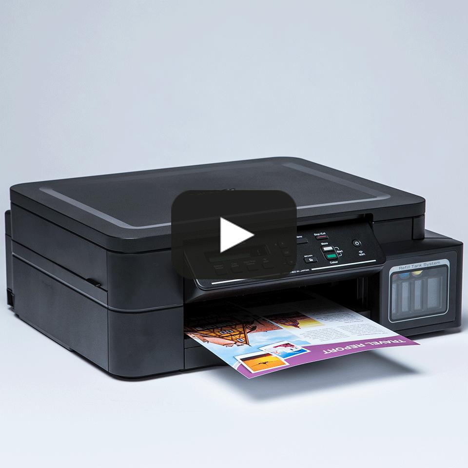 DCP-T510W InkBenefit Plus barevná multifunkční bezdrátová inkoustová tiskárna Brother  8