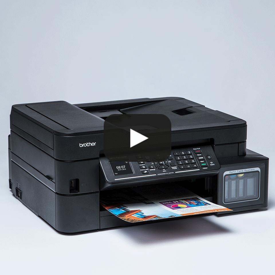 MFC-T910DW InkBenefit Plus barevná multifunkční bezdrátová inkoustová tiskárna Brother 9