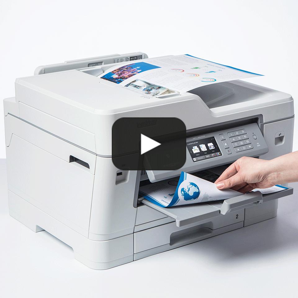 MFC-J6945DW Barevná bezdrátová inkoustová tiskárna A3 4 v 1 7