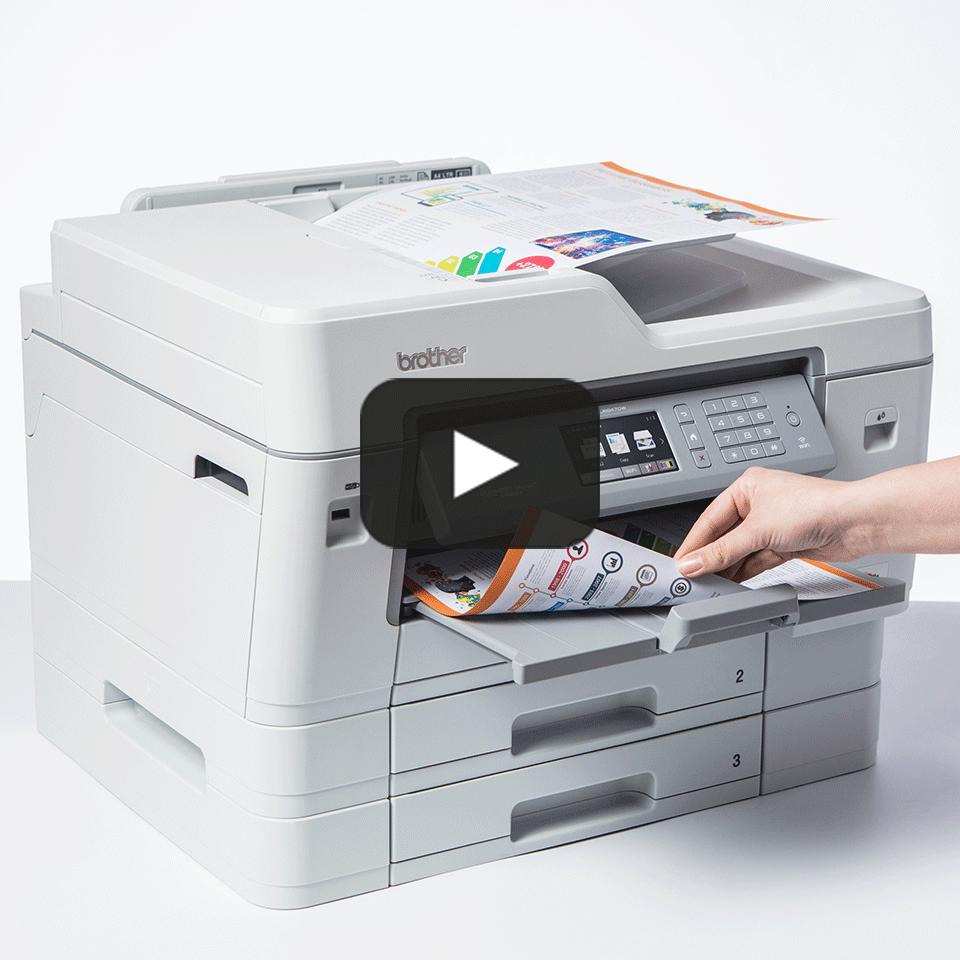 MFC-J6947DW Barevná bezdrátová inkoustová tiskárna A3 4 v 1 7